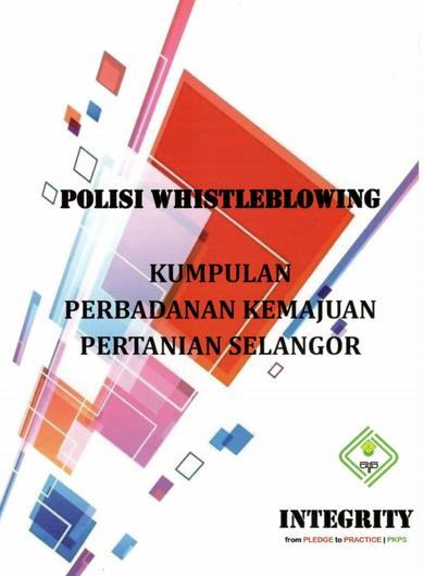POLISI WHISTLEBLOWING