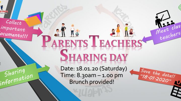 TTPKPS'20|JANUARY– PARENTS-TEACHERS SHARING DAY (PTS1)