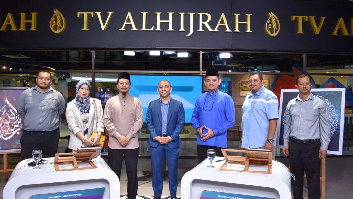 KUNJUNGAN HORMAT TIMBALAN PENGURUS BESAR KUMPULAN (AGRIBUSINESS) PKPS, DR MOHAMAD KHAIRIL BIN MOHAMAD RAZI KE STESEN TV AL HIJRAH