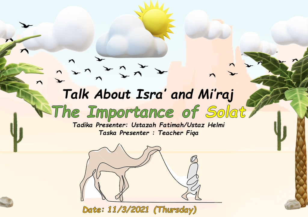 Permata PKPS'21|March-Isra' and Mi'raj