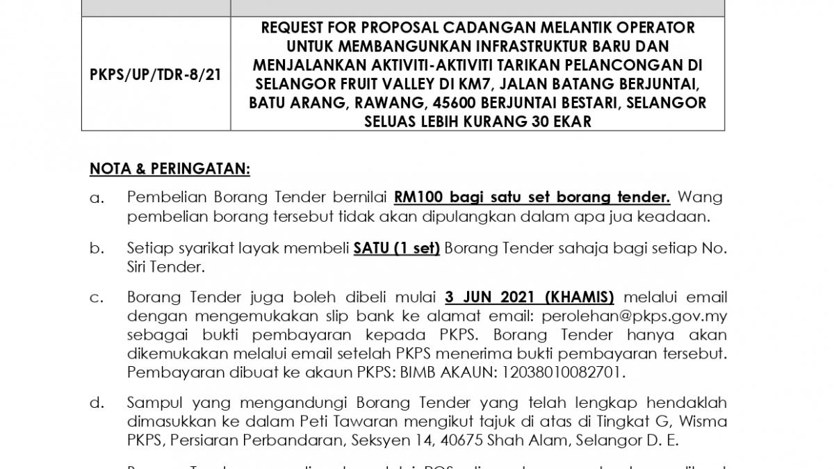 IKLAN TDR 8-21 - Agro Tourism SFV